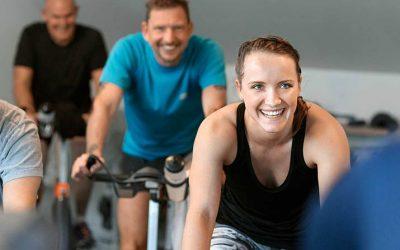 Watt træning på nye spinning cykler