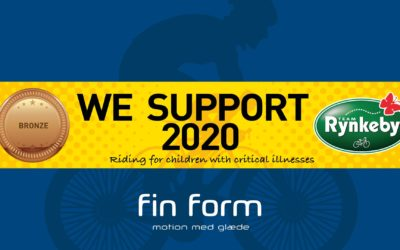 Fin Form er sponsor for Team Rynkeby og kræftens bekæmpelse