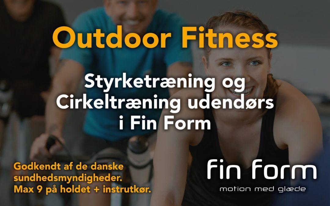 Udendørs træning i Fin Form